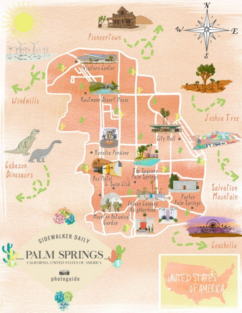 The 37 Best Places To Take Pictures In Palm Springs | Palm Springs - Palm Springs California Map