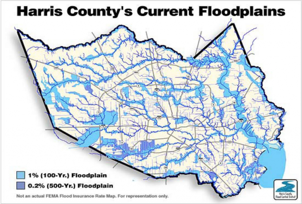 "The ""500-Year"" Flood, Explained: Why Houston Was So Underprepared - Texas Flood Zone Map 2016"