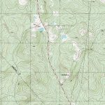 The Barefoot Peckerwood: Free Printable Topo Maps   Printable Topographic Map
