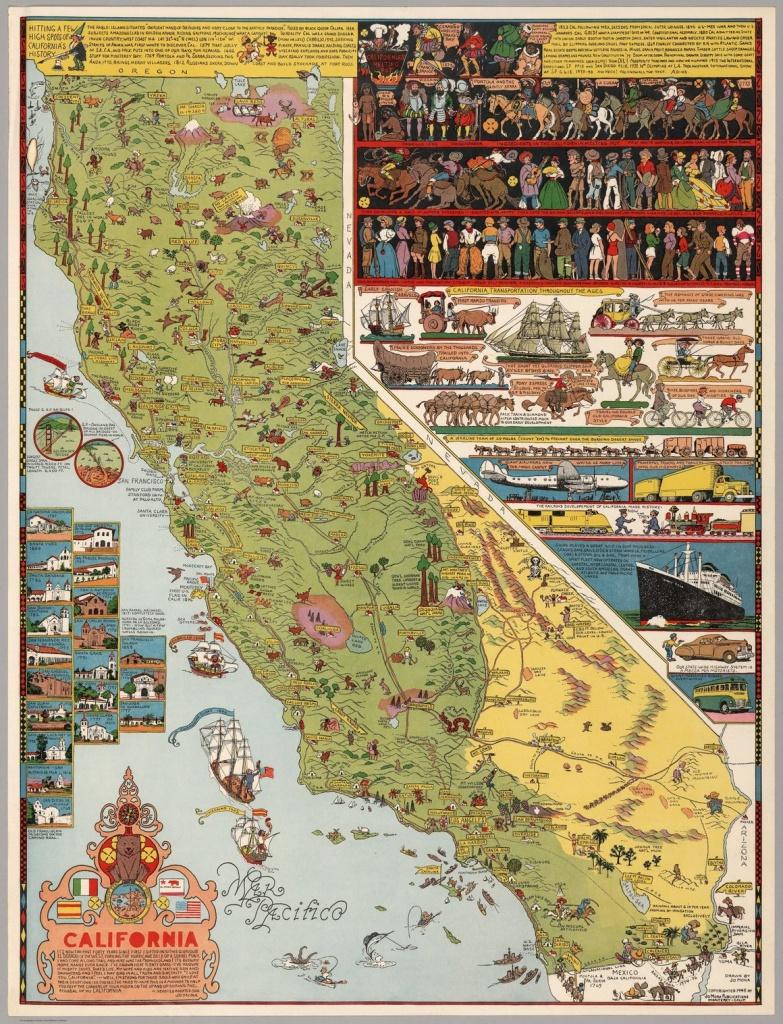 The Cowboy Cartographer Who Loved California - Atlas Obscura - California Maps For Sale