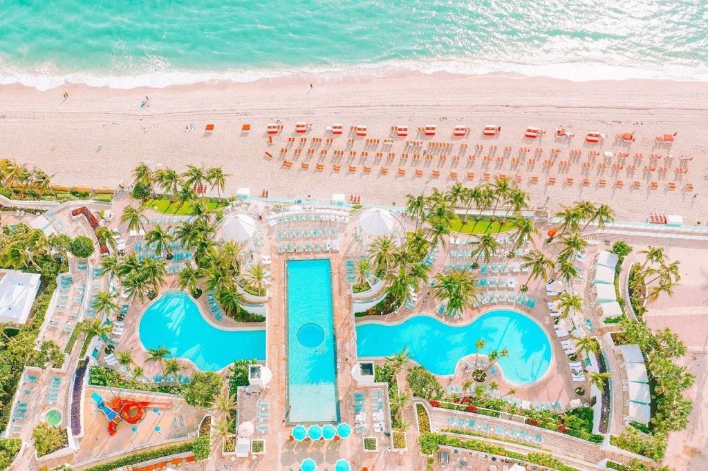 The Diplomat Beach Resort Hollywood, Curio Collectionhilton $177 - Map Of Hotels In Hollywood Florida