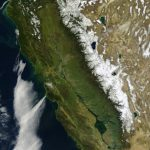 The First Satellite Map Of California (1851) | Accent Ideas   Satellite Map Of California