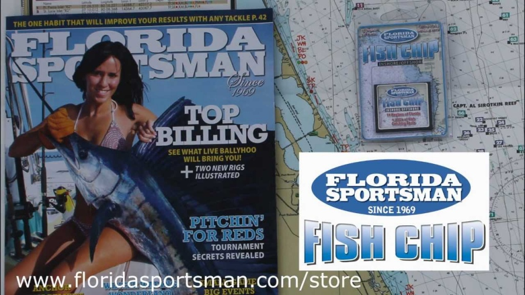 The Florida Sportsman Fish Chip - Youtube - Florida Sportsman Fishing Maps