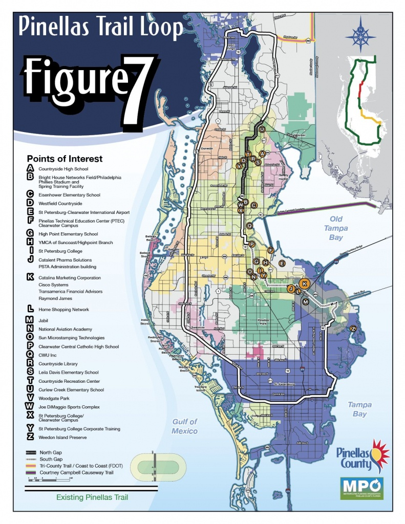 The Fred Marquis Pinellas Trail, Florida   Been There Done That - Pinellas Trail Map Florida