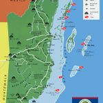 The Great Collection Of Belize Maps   Printable Map Of Belize