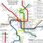 The New Circulators And The Metro Map – Greater Greater Washington   Printable Metro Map Of Washington Dc
