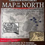 The North Campaign Map   Dungeon Masters Guild   Dungeon Masters Guild   Storm King's Thunder Printable Maps
