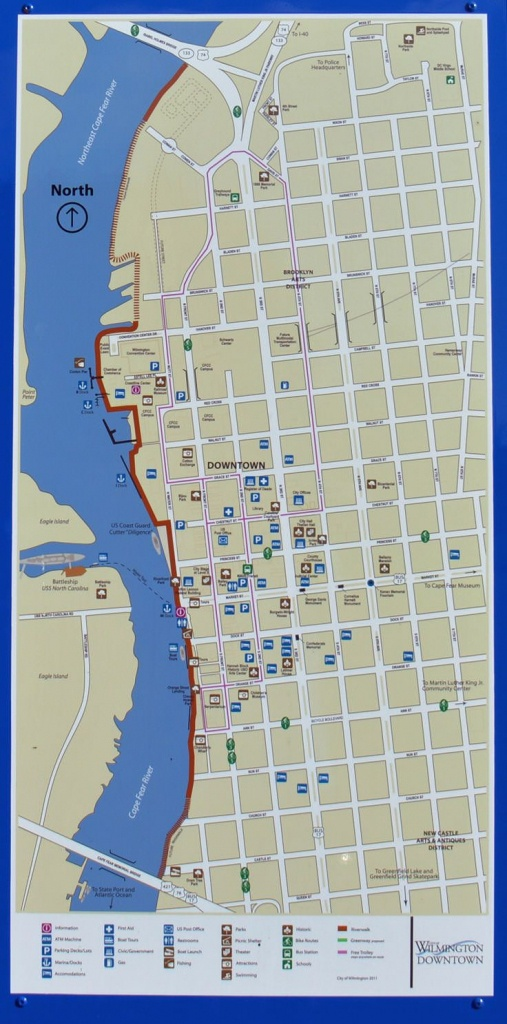 The Riverwalk Map In Wilmington, Nc   Getting Out There! In 2019 - Printable Map Of Wilmington Nc