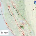 The San Andreas' Sister Faults In Northern California | Temblor   California Fault Lines Map