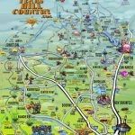 The Texas Hill Country Map   Texas Hill Country Map Pdf