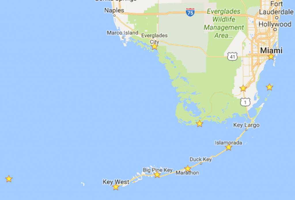 The Ultimate 7-Day Florida National Parks Itinerary - Bearfoot Theory - Map Of Florida Keys And Miami
