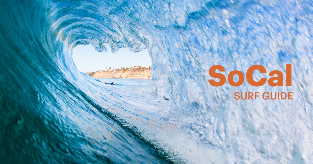 The Ultimate Southern California Surf Guide – Ihg Travel Blog - Surf Spots In California Map