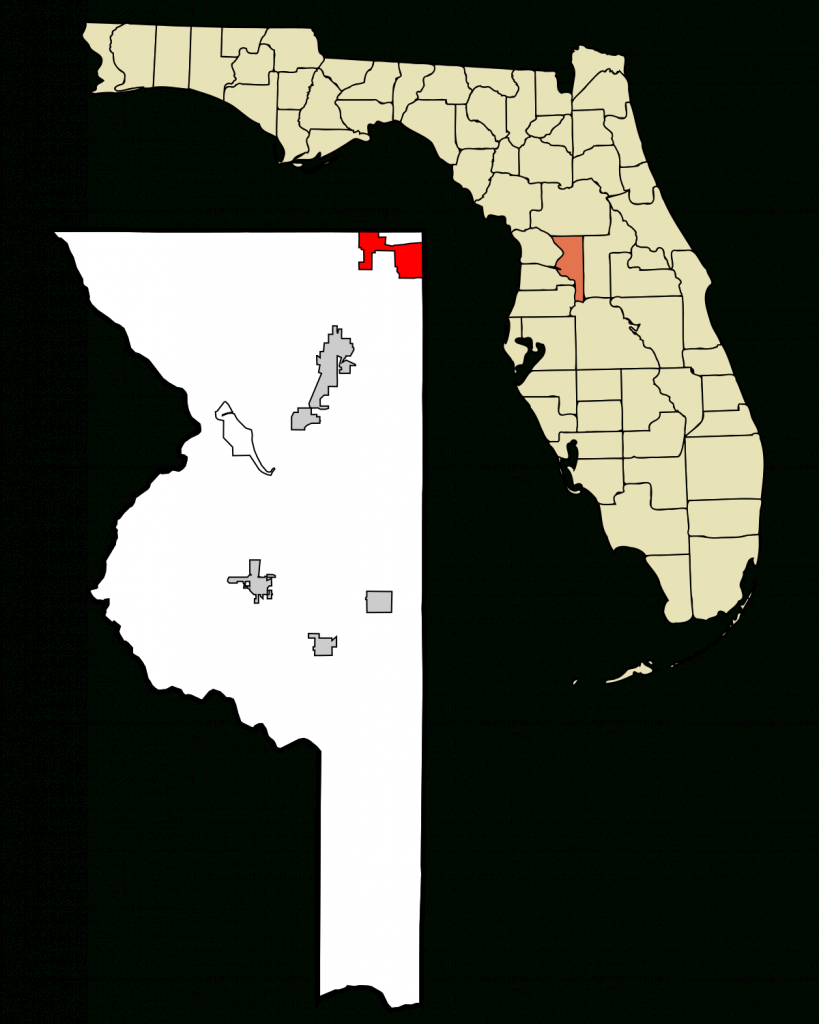 The Villages, Florida - Wikipedia - The Villages Florida Map