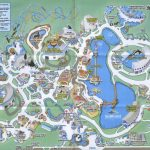 Theme Park Brochures Sea World Orlando   Theme Park Brochures   Sea World Florida Map