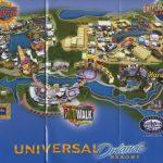 Theme Park Brochures Universal Orlando Resort   Theme Park Brochures   Universal Orlando Florida Map