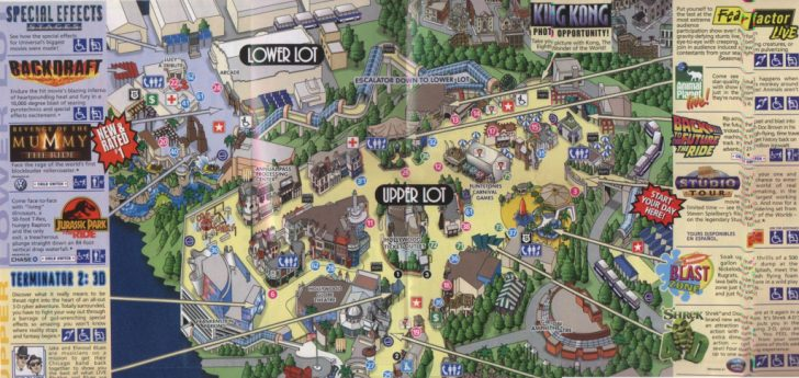 Universal Citywalk California Map
