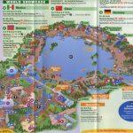 Theme Park Brochures Walt Disney World Epcot   Theme Park Brochures   Printable Map Of Epcot 2015