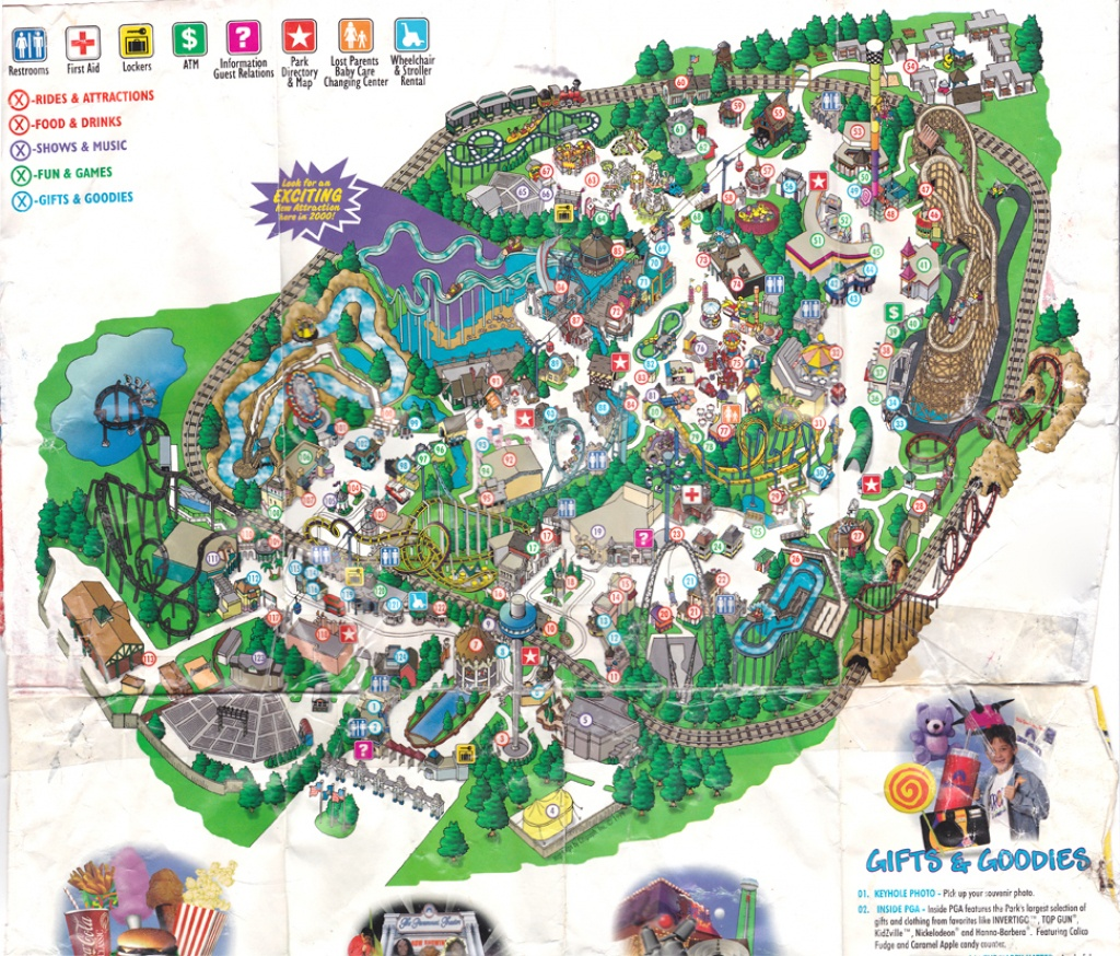 Theme Park Review • California Great America (Cga) Discussion Thread - California's Great America Map