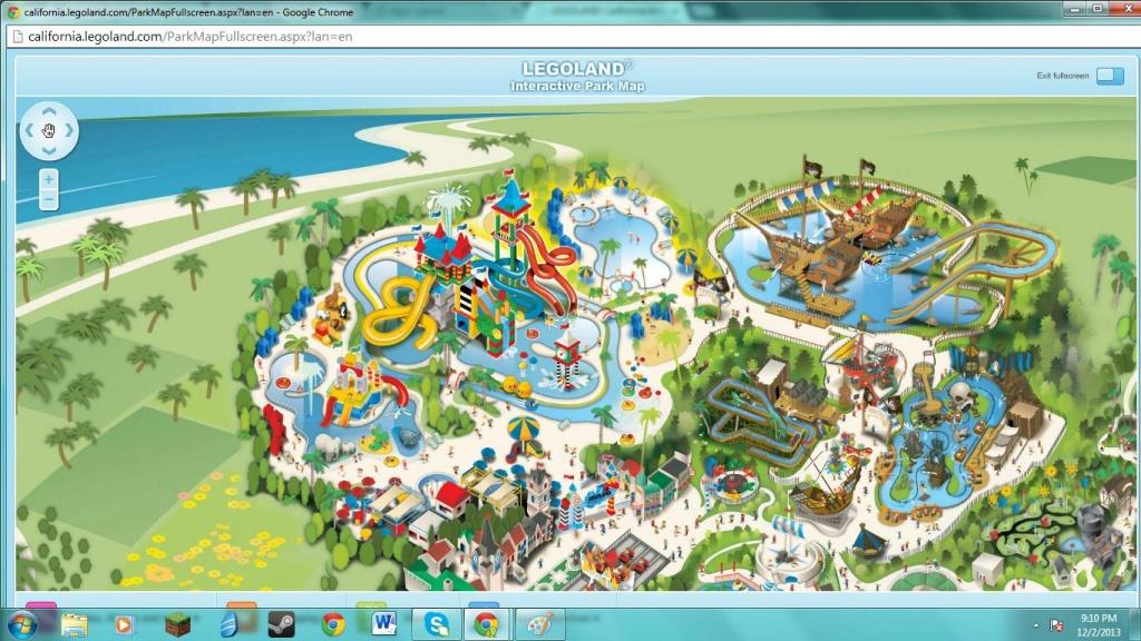 Legoland California Water Park Map | Printable Maps