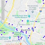 Third Party Electric Vehicle Charging Stations Enter Austin City Limits   Charging Stations In Texas Map