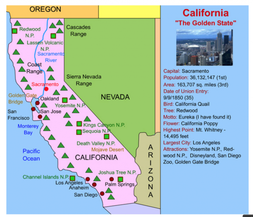 This California Interactive Map Is Perfect For Kids! Simply Click On - California Map For Kids