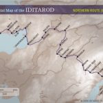 This Is A Map Of The Iditarod Trail! Good Luck To All The   Printable Iditarod Trail Map