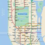 This Is The Only Coffee Shop Map Of New York City You'll Ever Need   Nyc Subway Map Manhattan Only Printable