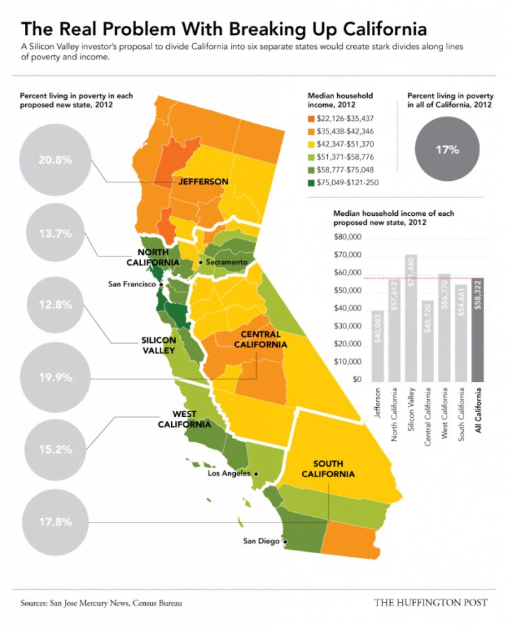 California Cost Of Living Map