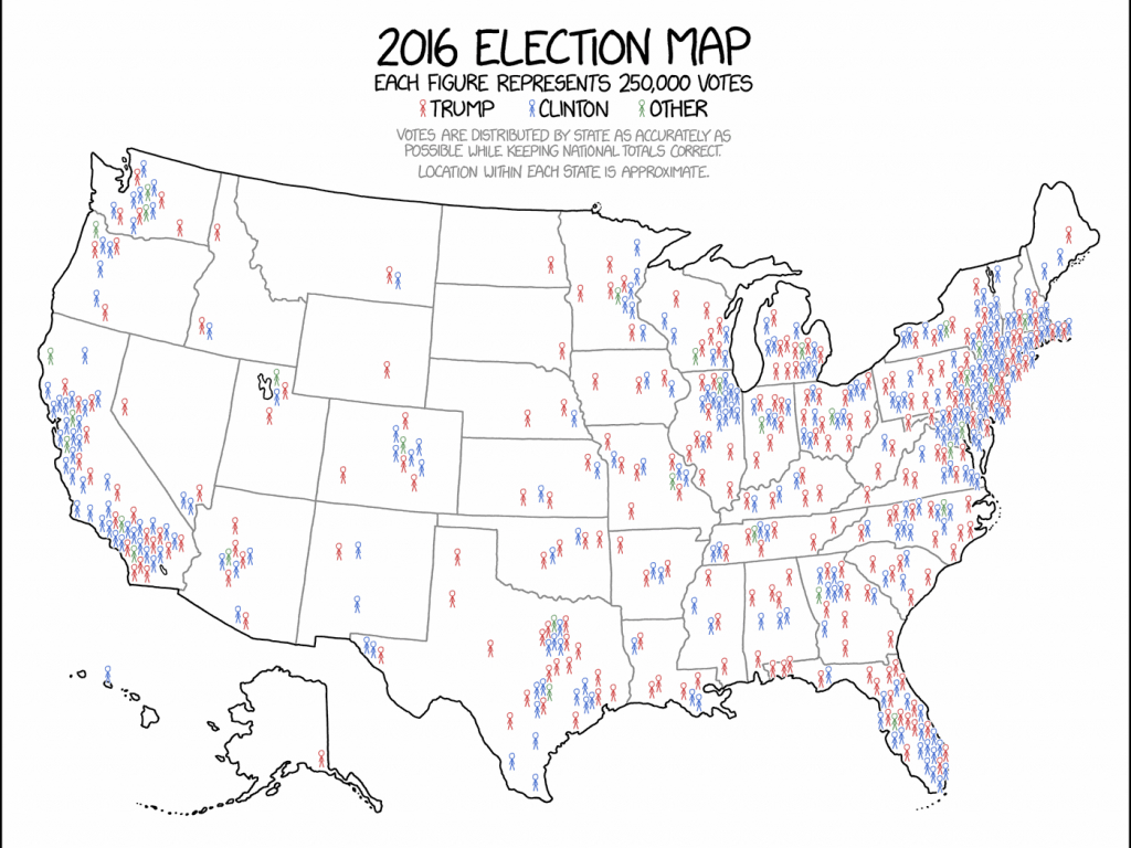 This Might Be The Best Map Of The 2016 Election You Ever See - Vox - 2016 Printable Electoral Map