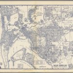 Thomas Bros. Map Of San Diego, National City & La Mesa, California   Thomas Bros Maps California