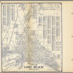Thomas Bros'. Map Of The City Of Long Beach, California.   David   Thomas Bros Maps California