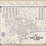 Thomas Bros. Map Of The City Of Santa Barbara California   Barry   Thomas Bros Maps California