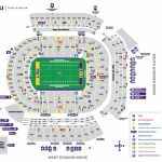 Tiger Stadium Seating Chart   Lsusports   The Official Web Site   University Of Florida Football Stadium Map