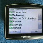 Tomtom One Iq Gps Sat Nav Uk & Usa Maps United States Of America   Ebay   Sat Nav With Florida Maps