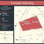 Tornado Warning: Tornado Warning Continues For Flower Mound Tx   Trophy Club Texas Map
