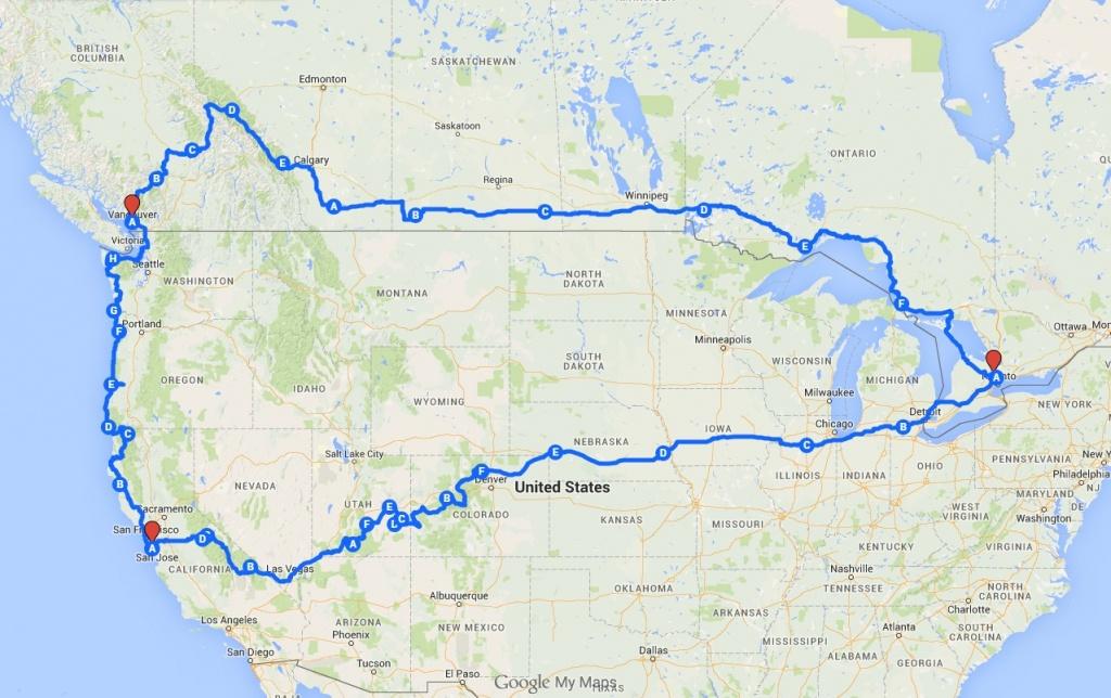 Toronto California Map | Campus Map - Toronto California Map