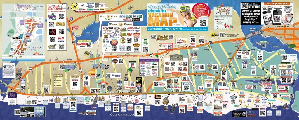 Tourist Map Of Panama City Beach | To The Beach! | Panama City Beach - Map Of Panama City Beach Florida Condos