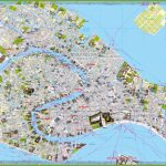 Tourist Map Of Venice City Centre   Venice City Map Printable