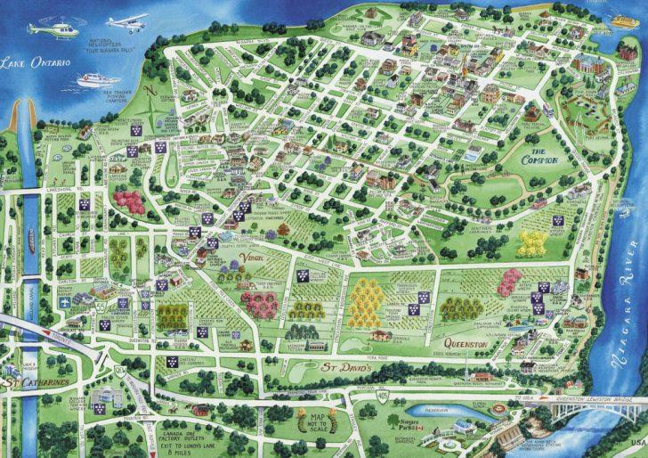 Printable Map Of Niagara On The Lake