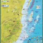 Travel Map Of Belize   Printable Map Of Belize