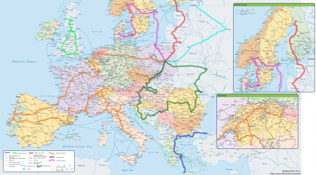 Travel Maps Of Europe ~ Cinemergente - Europe Travel Map Printable