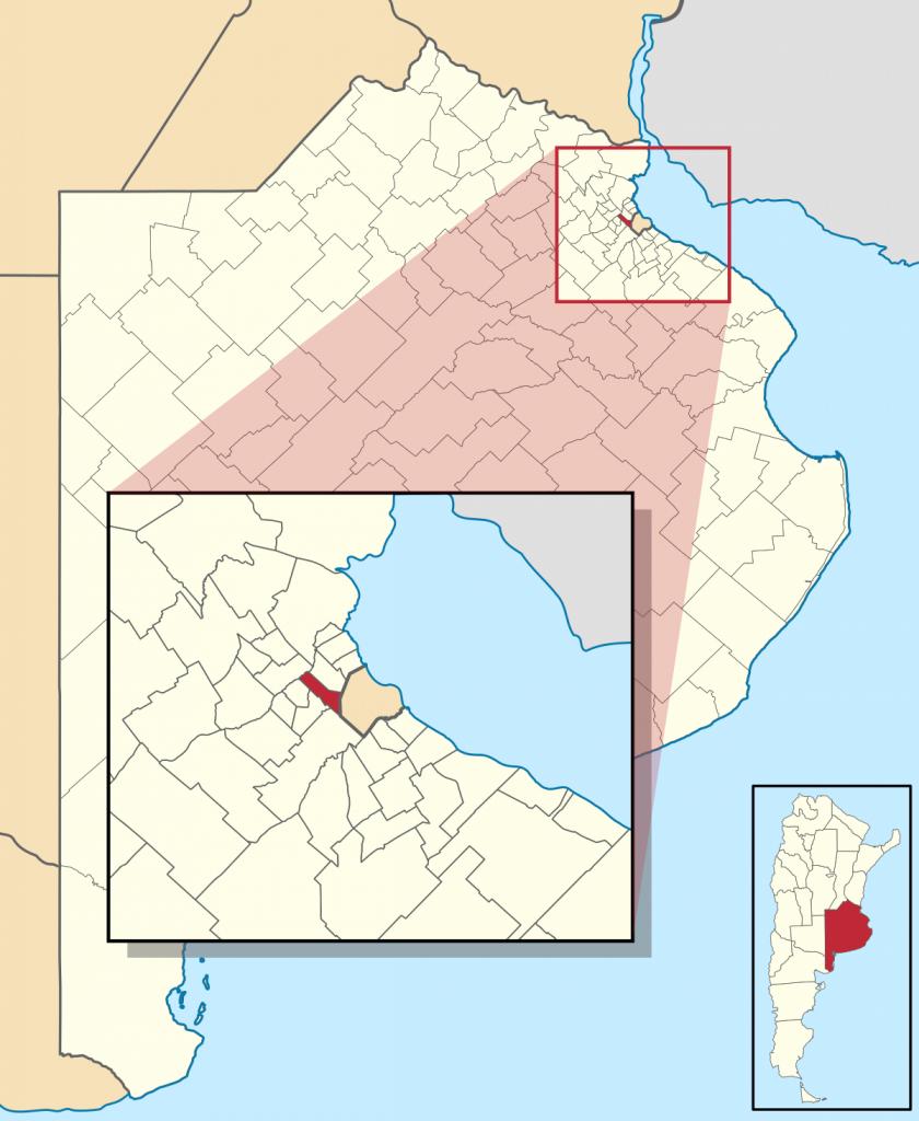 Tres De Febrero Partido - Wikipedia - Florida Street Buenos Aires Map