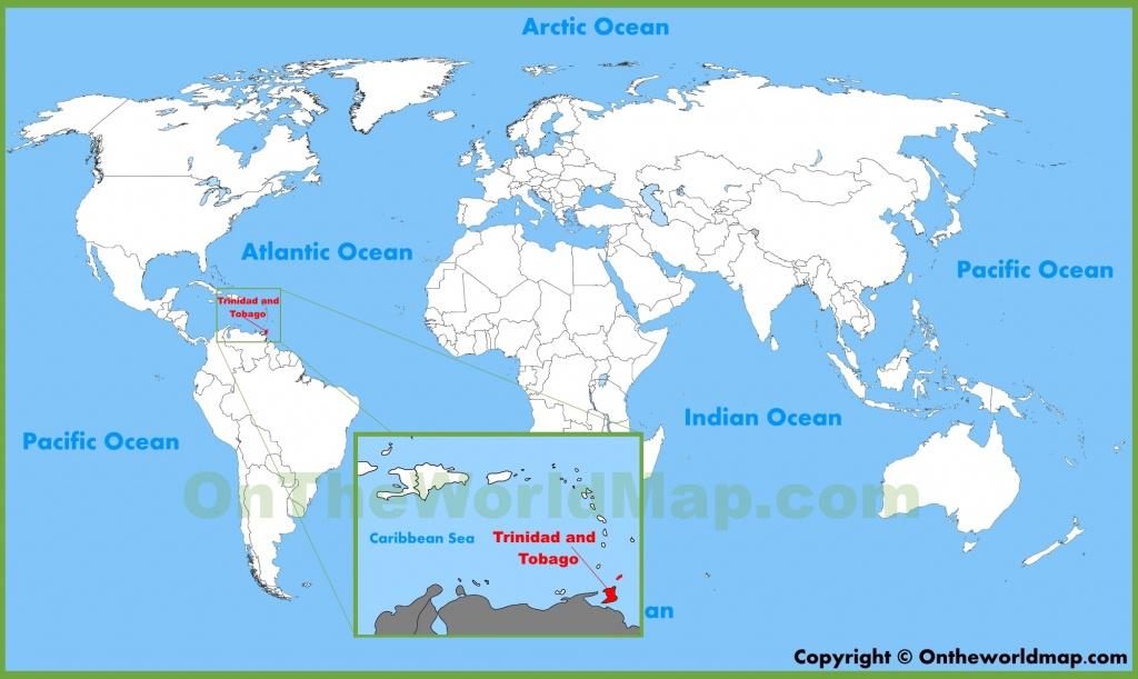 Trinidad And Tobago Maps   Maps Of Trinidad And Tobago - Trinidad California Map