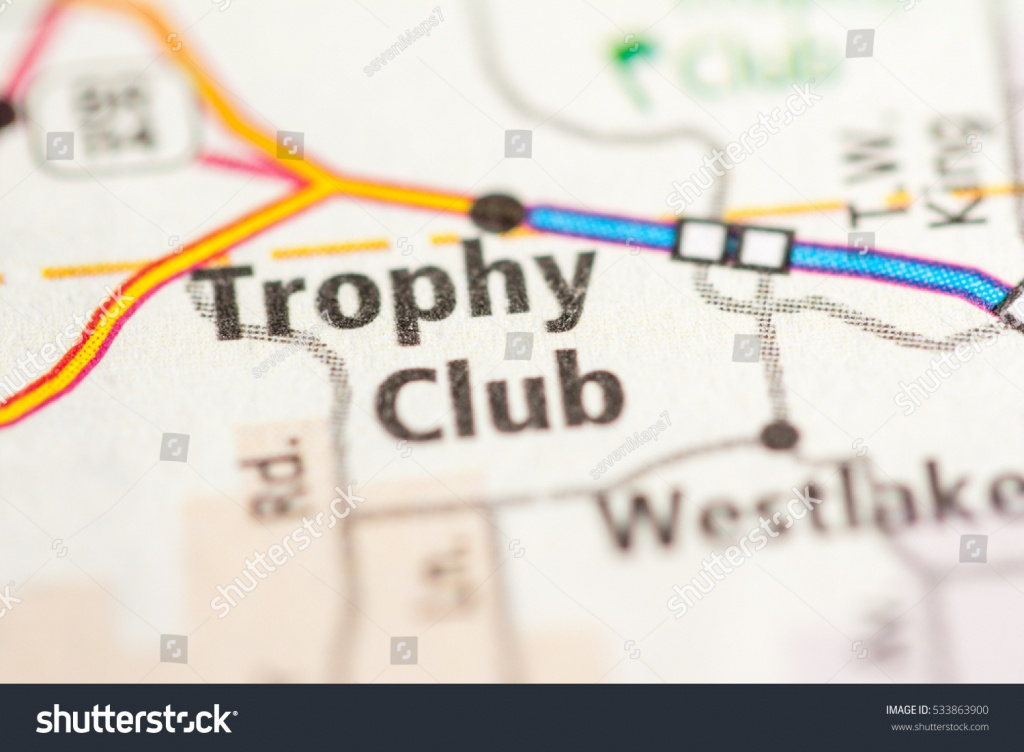 Trophy Club Texas Usa Stock Photo (Edit Now) 533863900 - Shutterstock - Trophy Club Texas Map
