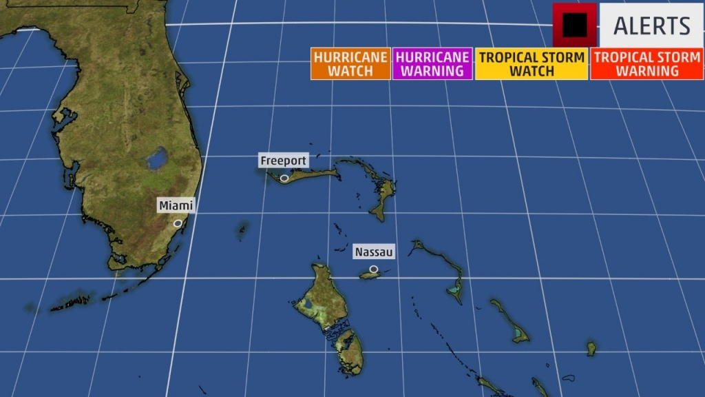 Tropical Storm Watches Issued For Parts Of Florida | The Weather Channel - Weather Channel Florida Map