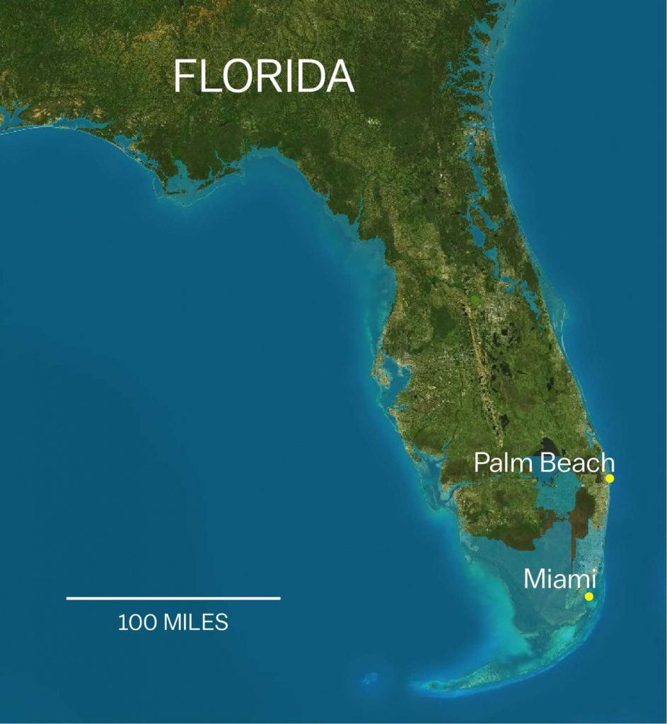 Trump Axed A Rule That Would Help Protect Coastal Properties Like - Florida Underwater Map