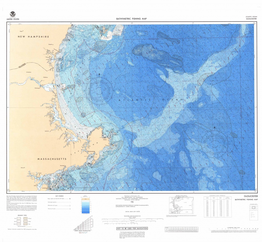 U.s. Bathymetric And Fishing Maps   Ncei - Water Depth Map Florida