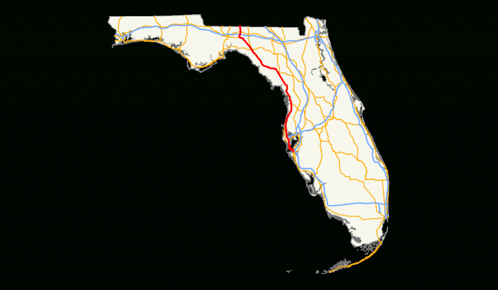 U.s. Route 19 In Florida - Wikipedia - Spring Hill Florida Map