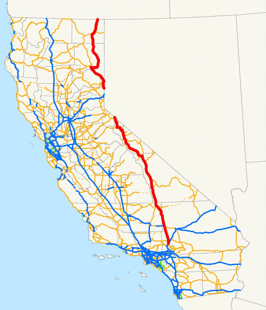 U.s. Route 395 In California - Wikipedia - Route 395 California Map