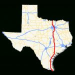 U.s. Route 77 In Texas   Wikipedia   Ennis Texas Map